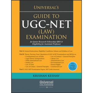 Universal's Guide to UGC-NET (Law) Examination 2019 for Junior Research Fellowship (JRF) & Eligibility Assistant Professor by Krishnan Keshav