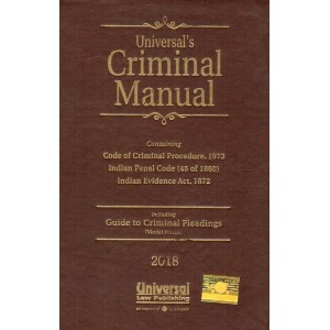 Universal's Criminal Manual [HB Pocket]