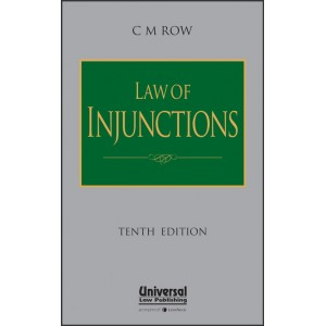 Universal's Law of Injunctions [HB] by C. M. Row