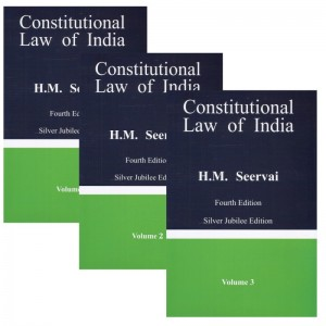 Constitutional Law of India by H. M. Seervai [3 HB Vols. 2019] | Universal Book Traders
