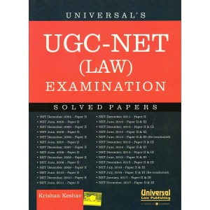Universal's UGC-NET (Law) Examination Solved Papers by Krishan Keshav