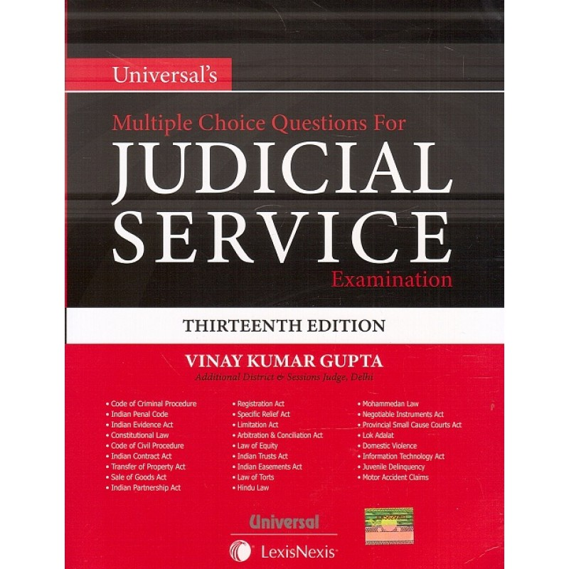 Universal's MCQ's For Judicial Service Examination by Vinay