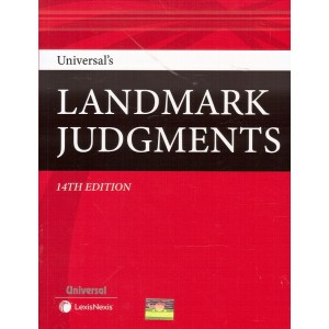 Universal's Landmark Judgments