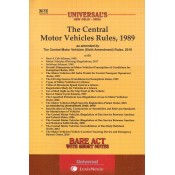 Universal's The Central Motor Vehicles Rules, 1989 Bare Act by Lexisnexis