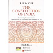 Universal's The Constitution of India by P. M. Bakshi | LexisNexis