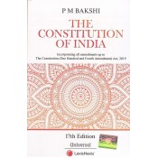 Universal's The Constitution of India by P. M. Bakshi (Pocket) | LexisNexis