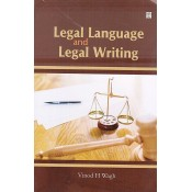 UBH's Legal Language and Legal Writing for LL.B by Vinod H. Wagh