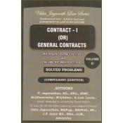 Usha Jaganath Law Series's Contract - I or General Contracts [Vol. II - Solved Problems] for LLB / BL by P. Jaganathan