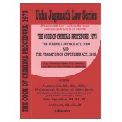Usha Jaganath Law Series's The Code of Criminal Procedure, 1973 (Cr.P.C) for LLB / BL by P. Jaganathan