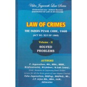 Usha Jaganath Law Series's Law of Crimes - Indian Penal Code, 1860 [IPC Volume II : Solved Problems] for LLB / BL Students by P. Jaganathan