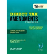 CA. Vinod Gupta's Direct Tax Amendments by Finance Act, 2019 for CA Final May 2020 Exam [DT - Old & New Course]