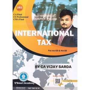 V'smart Academy's International Taxation for CA Final/CS Professional/CMA Final May 2020/Nov. 2020 Exam by CA. Vijay Sarda [Old & New Syllabus]