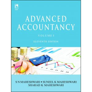 Vikas Publishing House's Advanced Accountancy Volume 1 by S. N. Maheshwari, Sunil & Sharad K. Maheshwari