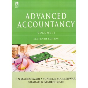 Vikas Publishing House's Advanced Accountancy Volume 2 by S. N. Maheshwari, Sunil, Suneel K. Maheshwari, Sharad K. Maheshwari