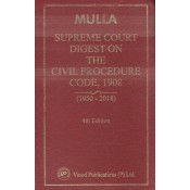 Vinod Publication's Supreme Court Digest on the Civil Procedure Code, 1908 [1950-2018] by Adv. D. U. Mulla