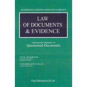 Vinod Publication's Law of Documents & Evidence [HB] by V.S.R. Avadhani & V. Soubhagya Valli | Avadhani's Lesson Series on Evidence