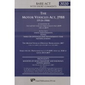 Vinod Publication's The Motor Vehicles Act, 1988 Bare Act with Short Comments