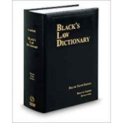 Black's Law Dictionary by Bryan A. Garner - West Thomson Reuters