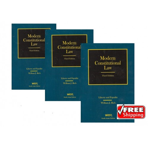 West Publishing's Modern Coonstitutional Law By William J. Rich [3rd HB Edn. in 3 Vols 2017]