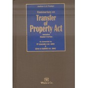 Whytes & Co's Commentary on Transfer of Property Act including Model Forms [TP-HB] by Justice C. K. Thakkar
