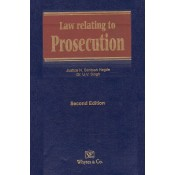 Whytes & Co.'s Law relating to Prosecution & Allied Law [HB] by Justice N. Santosh Hegde, Dr. U. V. Singh