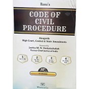 Basu's Code of Civil Procedure by Whytes & Co. [CPC - 4 Vols.]