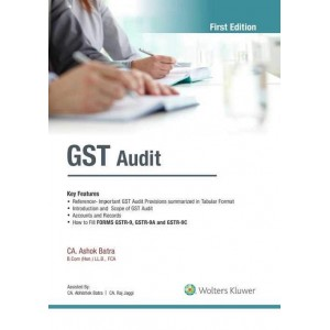 CCH Wolter Kluwer's GST Audit 2019 by CA. Ashok Batra