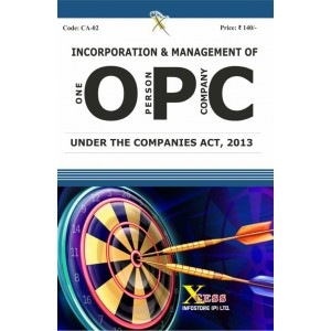 Xcess inforstore's Incorporation & Management of One Person Company (OPC)