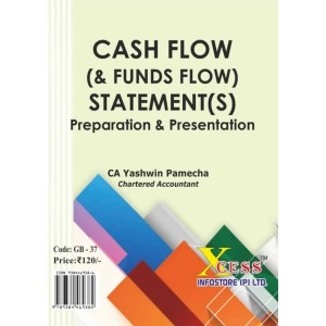 Xcess Infostores Cash Flow (& Funds Flow) Statements Preparation & Presentation by CA. Yashwin Pamecha