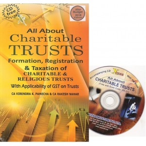 Xcess Infostore's All About Charitable Trusts with Free CD by CA. Virendra K. Pamecha
