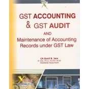 Xcess's GST Accounting & GST Audit and Maintenance of Accounting Records under GST Law by CA. Sunil B. Jain