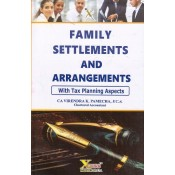 Xcess Infostore's Family Settlements & Arrangements (with Tax Planning) by CA. Virendra K. Pamecha