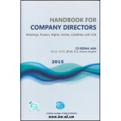Handbook For Company Directors - Meetings, Powers, Rights, Duties, Liabilities with CSR [HB] by CS Reema Jain, Young Global Publications