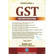 Young Global's Bare Act on GST Incporating CGST, IGST, UGST Act 2017