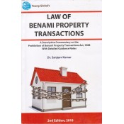 Young Global's Law of Benami Property Transactions by Dr. Sanjeev Kumar [2nd Edn. HB]