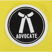 Advocates Sticker for Car, Bike, Office etc [Small]