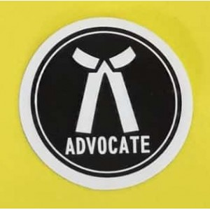 Advocates Sticker for Car, Bike, Office etc [Small]