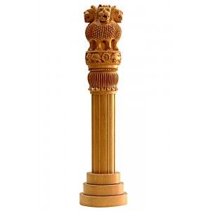 Ashok Stambh 12 Inch | Ashok Stambh National Emblem Showpiece/Pillar