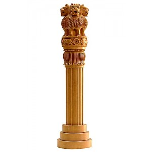 Ashok Stambh 8 Inch | Ashok Stambh National Emblem Showpiece/Pillar