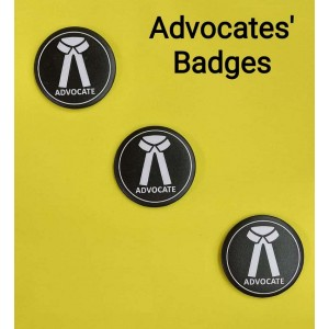 Advocates Badges/Stickers