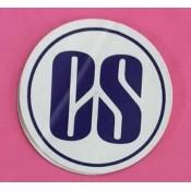 Company Secretary (CS) Stickers for Car, Bike & Office etc [Badge - Big]