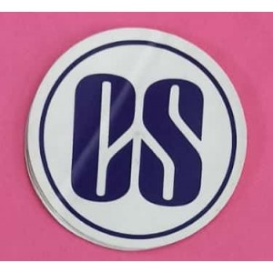 Company Secretary (CS) Stickers for Car, Bike & Office etc [Badge - Big]