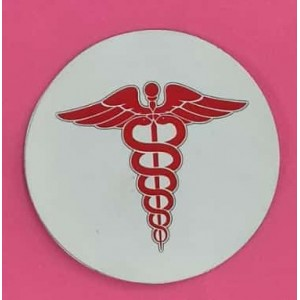 Doctor Stickers for Car, Bike & Office etc [Badge - Big]