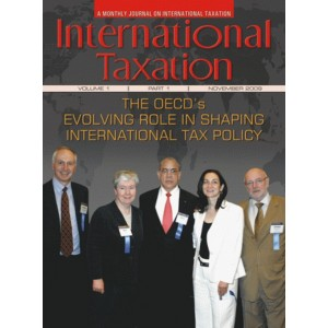 Taxmann's International Taxation (A Monthly Journal) 2020