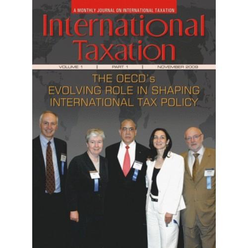Taxmann's International Taxation (A Monthly Journal)