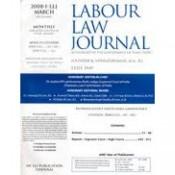 Labour Law Journal [LLJ]