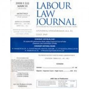 Labour Law Journal  - Annual Subscription 2021 [LLJ]