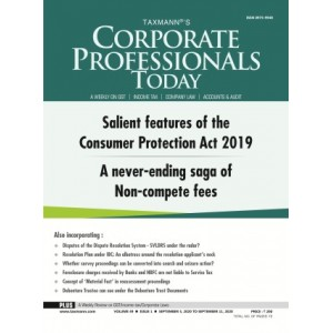 Taxmann's Corporate Professional Today (A Fortnightly Journal) 2021