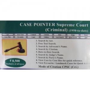 Case Pointer - Supreme Court (Criminal)