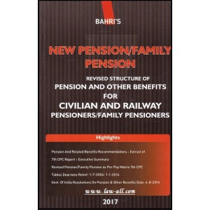 Bahri's New Pension / Family Pension for Civilian and Railway Pensioners / Family Pensioners